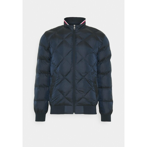 Tommy Hilfiger TWO TONES PADDED Kurtka Bomber blue TO122T06Y