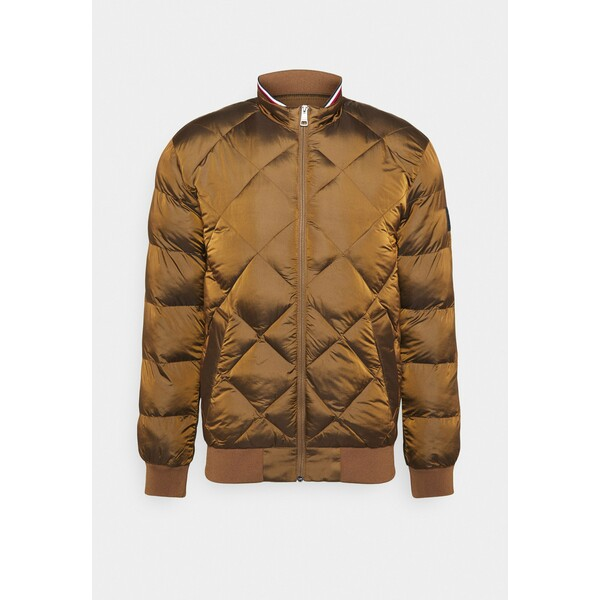 Tommy Hilfiger TWO TONES Kurtka Bomber brown TO122T06Y