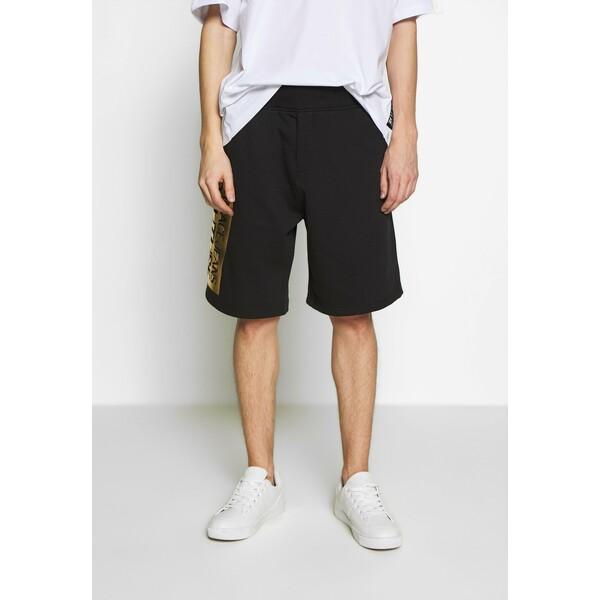 Versace Jeans Couture LOGO Spodnie treningowe black/gold VEI22F002