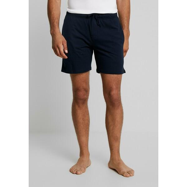 Schiesser SLEEPWEAR TROUSERS SHORTS Spodnie od piżamy dark blue S5982L006