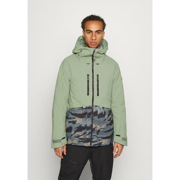 O'Neill TEXTURE JACKET Kurtka snowboardowa light green ON542F046