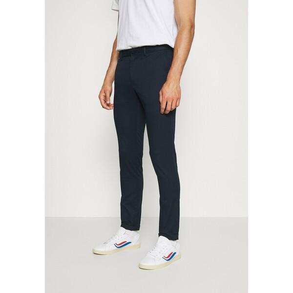 Tommy Hilfiger BLEECKER FLEX SOFT Spodnie materiałowe blue TO122E059