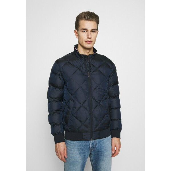 Tommy Hilfiger TWO TONES Kurtka Bomber blue TO122T06Y