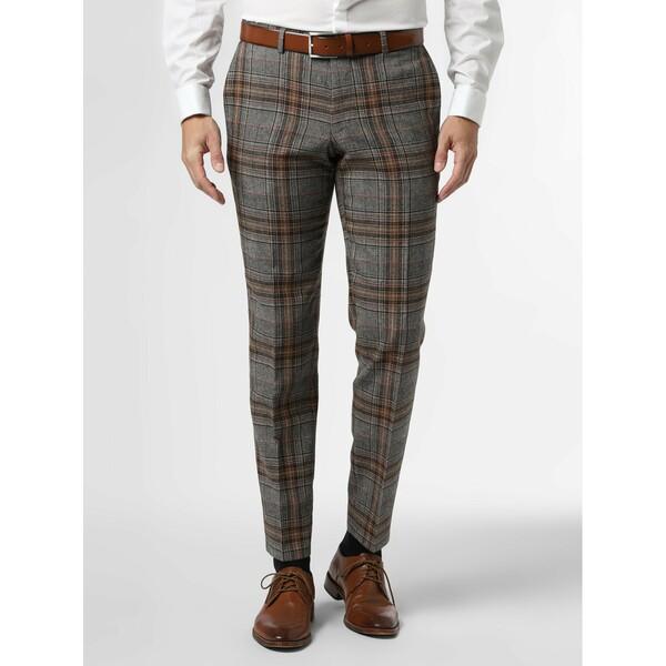 Finshley & Harding London Męskie spodnie od garnituru modułowego – Grant 488058-0001
