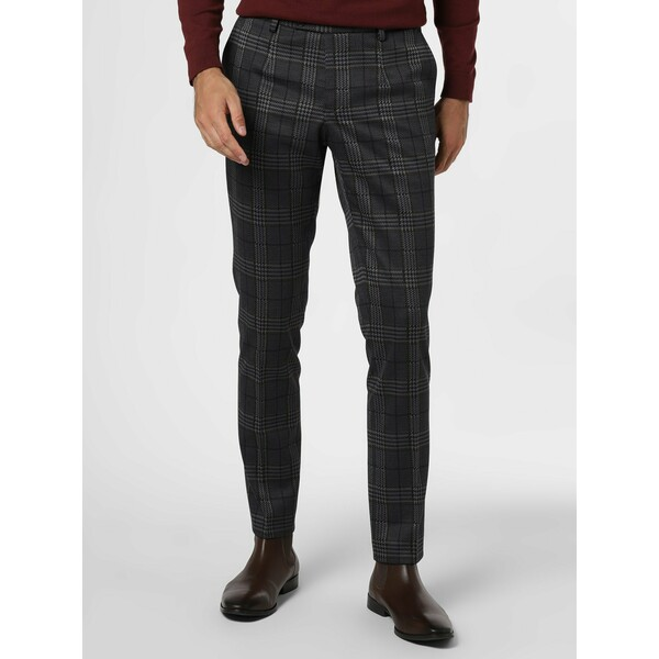 Finshley & Harding London Męskie spodnie od garnituru modułowego – Hudson 485061-0001