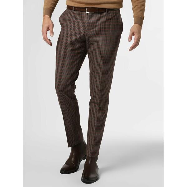 Finshley & Harding London Męskie spodnie od garnituru modułowego – Grant 485127-0001