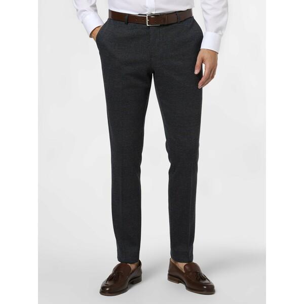 Finshley & Harding London Męskie spodnie od garnituru modułowego – Hudson 485146-0001