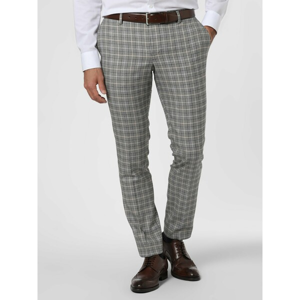 Finshley & Harding London Męskie spodnie od garnituru modułowego – Grant 485056-0001