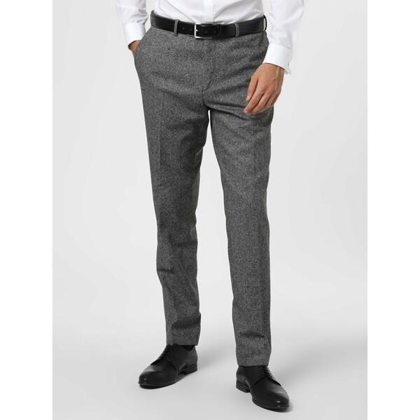 Andrew James New York Męskie spodnie od garnituru modułowego z dodatkiem jedwabiu – Carter 488292-0001