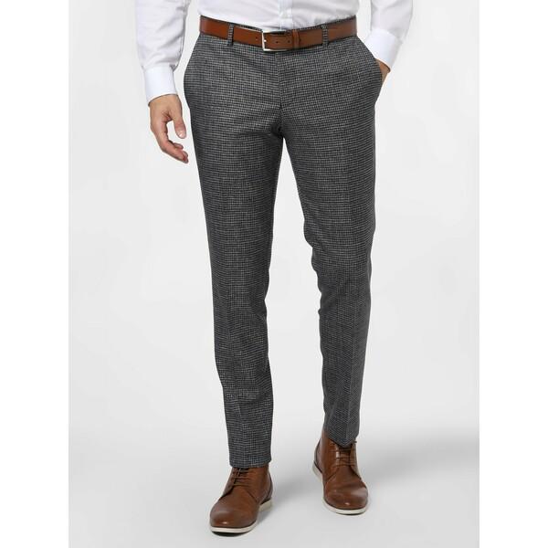Finshley & Harding London Męskie spodnie od garnituru modułowego – Grant 485058-0001
