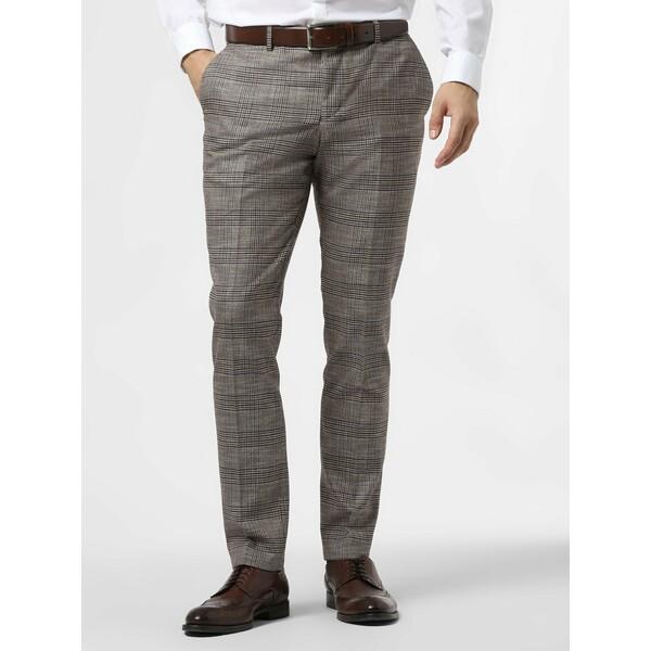Finshley & Harding London Męskie spodnie od garnituru modułowego – Grant 485119-0001