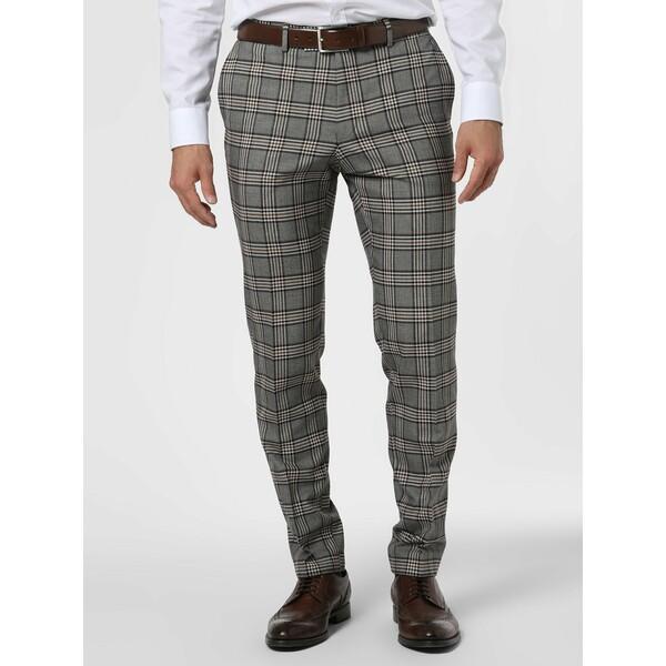 Finshley & Harding London Męskie spodnie od garnituru modułowego – Grant IB 493781-0001