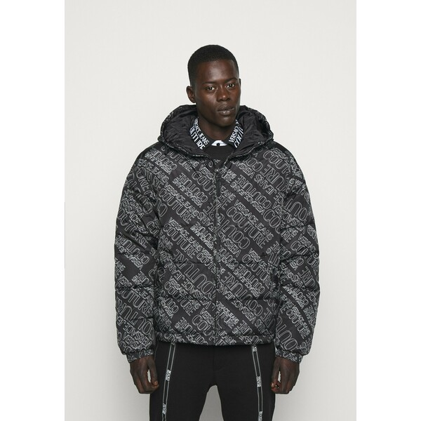 Versace Jeans Couture QUILTED JACKET Kurtka puchowa nero VEI22T018