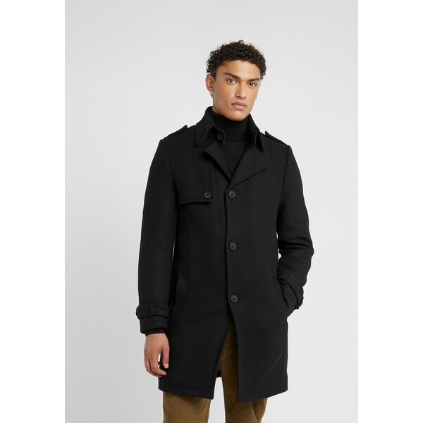 DRYKORN SKOPJE Krótki płaszcz black DR222T019
