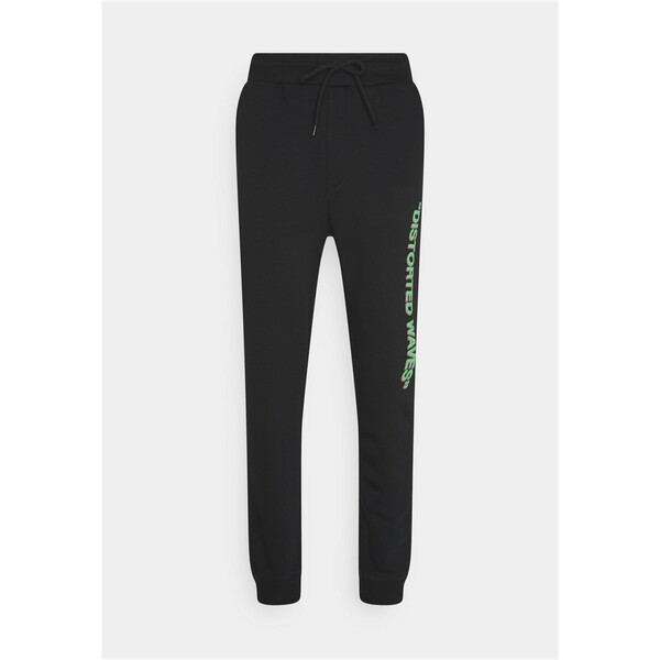 YOURTURN UNISEX Spodnie treningowe black YO121005X
