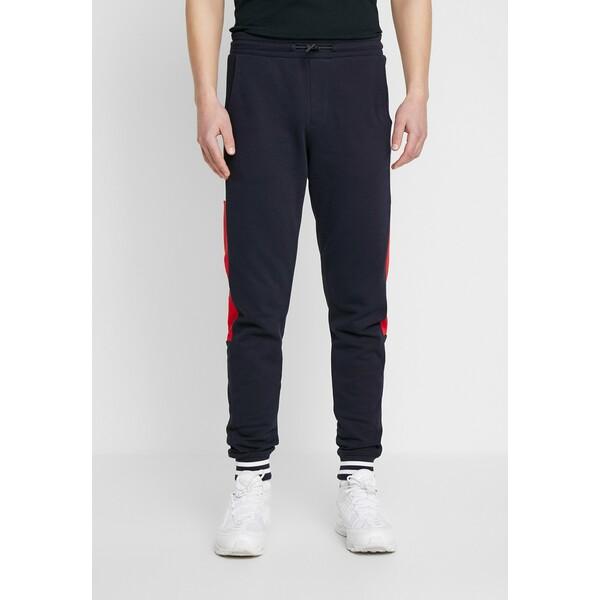 Tommy Hilfiger COLORBLOCKED Spodnie treningowe blue TO122E04S