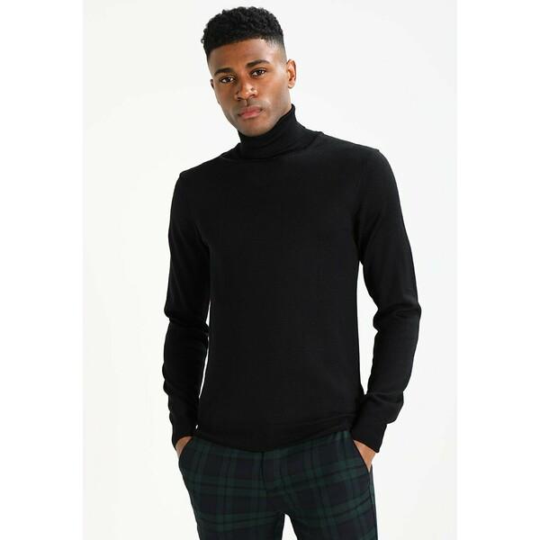 Casual Friday KONRAD Sweter black C1A22Q00F