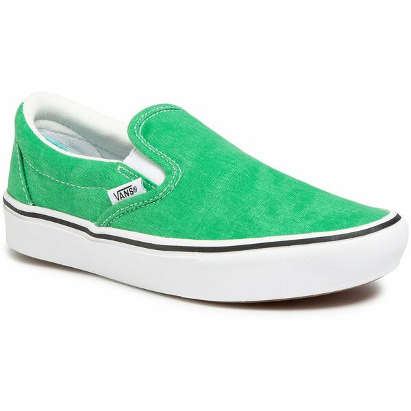 Vans Tenisówki Comfycush Slip-On VN0A3WMDWYC1 Zielony