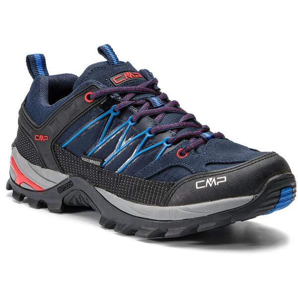CMP Trekkingi Rigel Low Trekking Shoes Wp 3Q54457 Granatowy