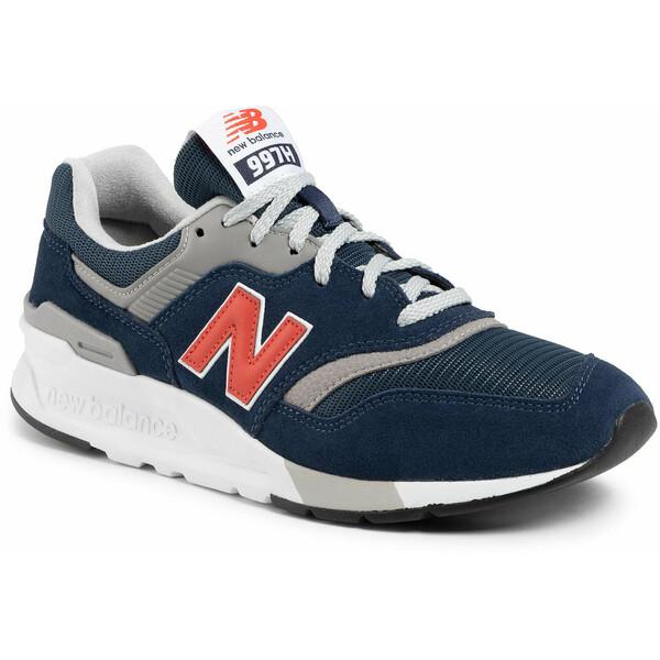 New Balance Sneakersy CM997HAY Granatowy