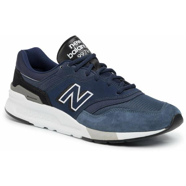 New Balance Sneakersy CM997HEM Granatowy