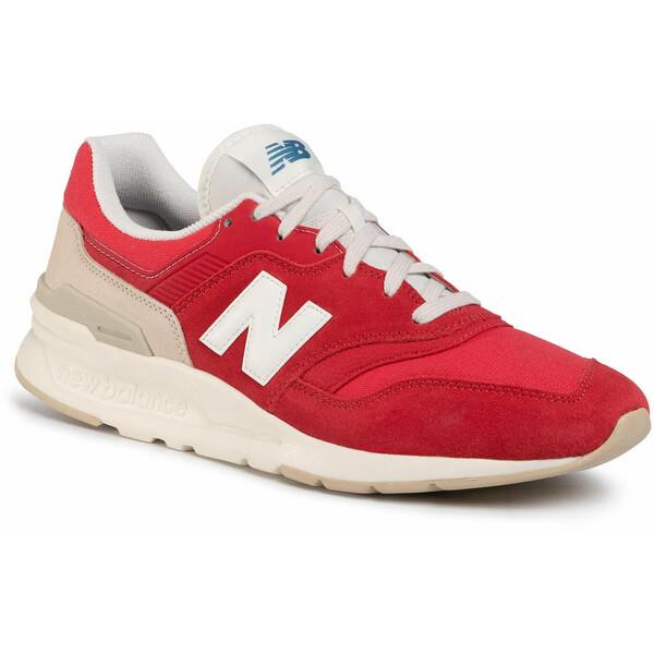 New Balance Sneakersy CM997HBS Czerwony