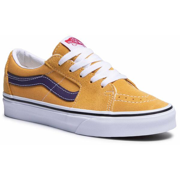 Vans Tenisówki Sk8-Low VN0A4UUK24K1 Żółty