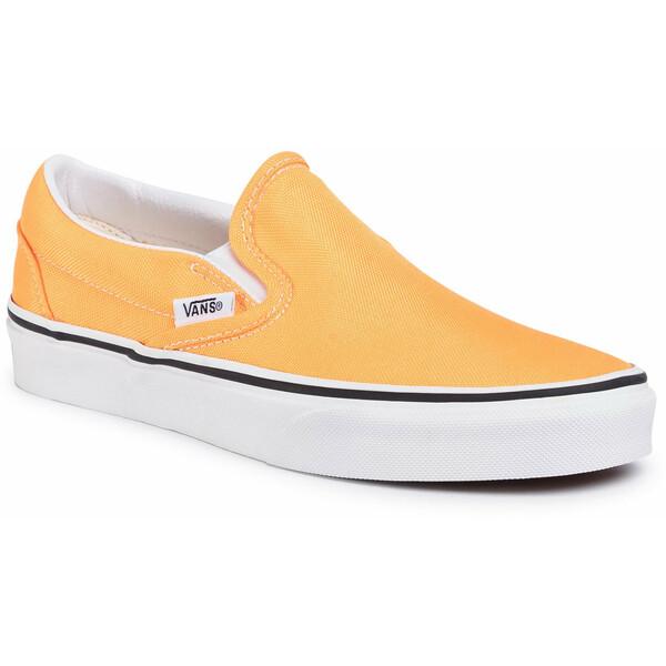 Vans Tenisówki Classic Slip-On VN0A4U38WT41 Pomarańczowy