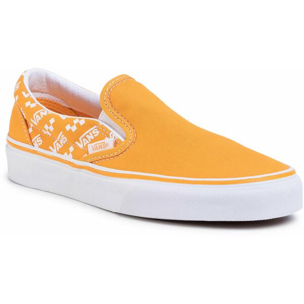 Vans Tenisówki Classic Slip-On VN0A4U38WL31 Pomarańczowy