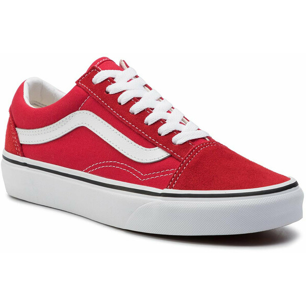 Vans Tenisówki Old Skool VN0A4BV5JV61 Czerwony