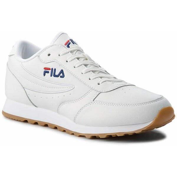 Fila Sneakersy Orbit Jogger Low 1010264.1FG Biały