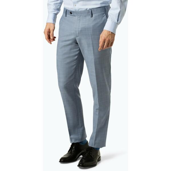 Finshley & Harding Męskie spodnie od garnituru modułowego – Black Label - Mitch 430302-0001