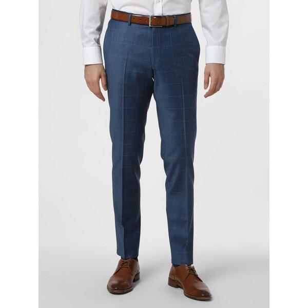 Finshley & Harding London Męskie spodnie od garnituru modułowego – Grant 469232-0001