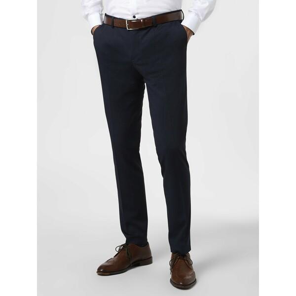 Finshley & Harding London Męskie spodnie od garnituru modułowego – Hudson 462307-0001