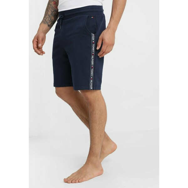 Tommy Hilfiger Spodnie od piżamy blue TO182L00C