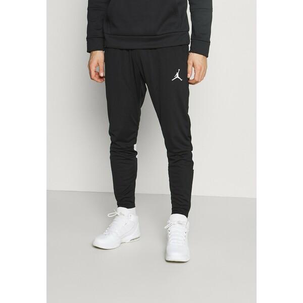 Jordan AIR PANT Spodnie treningowe black/white JOC42E038