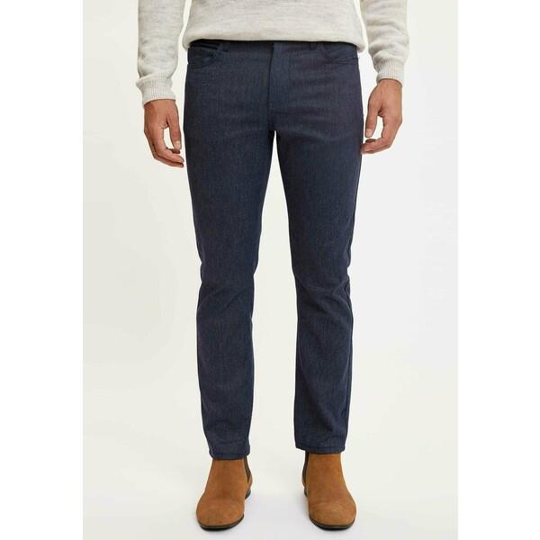 DeFacto Spodnie materiałowe indigo DEZ22E05C