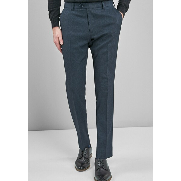 Next Spodnie materiałowe mottled blue NX322E0D8