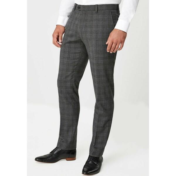 Next Spodnie materiałowe grey NX322E08V