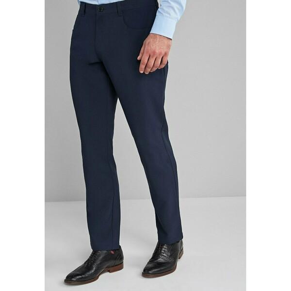 Next Spodnie garniturowe blue NX322E080