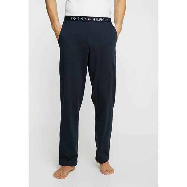 Tommy Hilfiger PANT Spodnie od piżamy blue TO182L00P