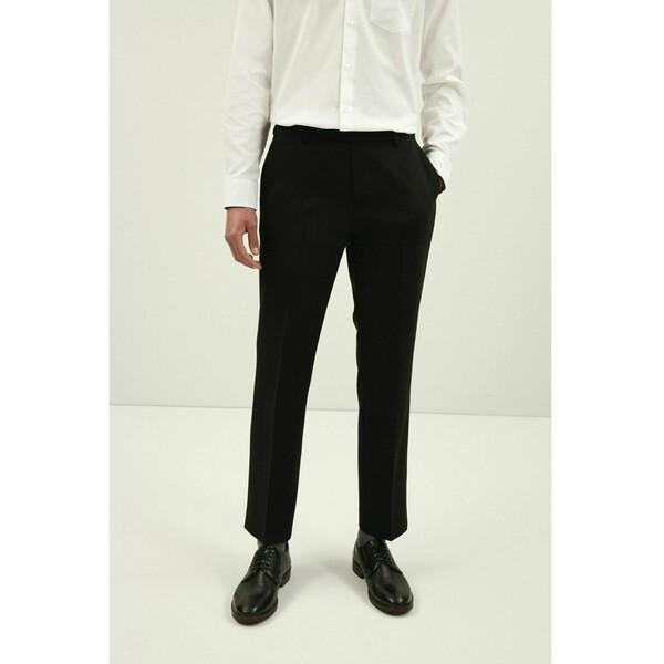 Next Spodnie materiałowe black NX322E0LO