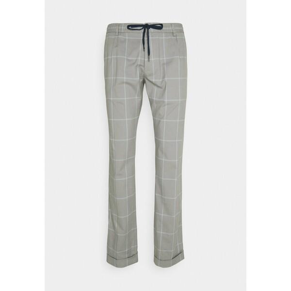 Tommy Hilfiger Spodnie materiałowe antique silver TO122E06Z