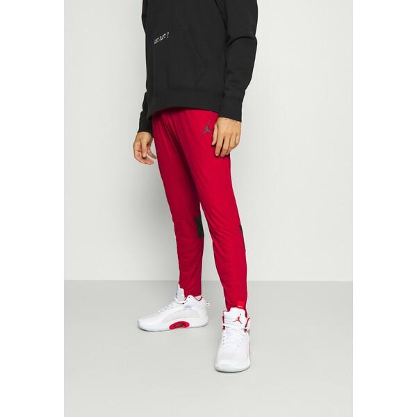 Jordan AIR PANT Spodnie treningowe gym red/black JOC42E038