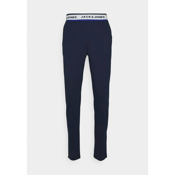 Jack & Jones JACWARREN PANTS Spodnie od piżamy maritime blue JA282L00I