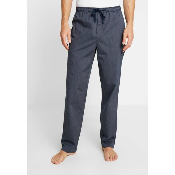 Schiesser Spodnie od piżamy dark blue S5982L008