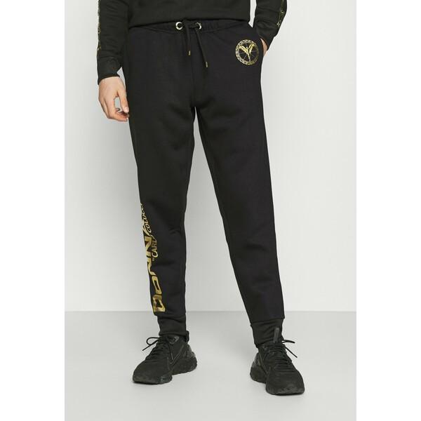 Carlo Colucci DONNAY X CARLO COLUCCI Spodnie treningowe black gold CAP22E00E