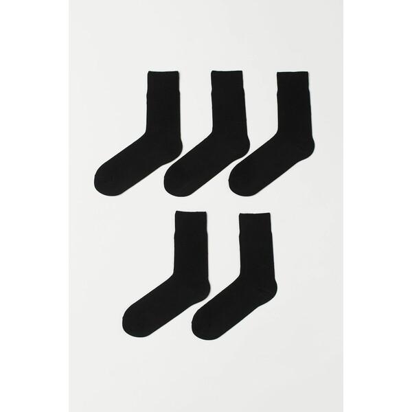 H&M Skarpety 5-pak 0452818001 Czarny