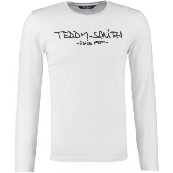 Teddy Smith TICLASS Bluzka z długim rękawem blanc TS122O00Z-A11