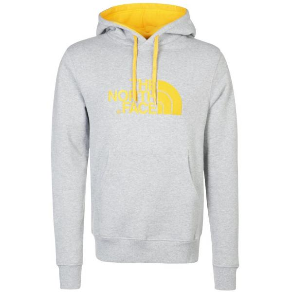 The North Face DREW PEAK Bluza heather/yellow TH342B06D-C14